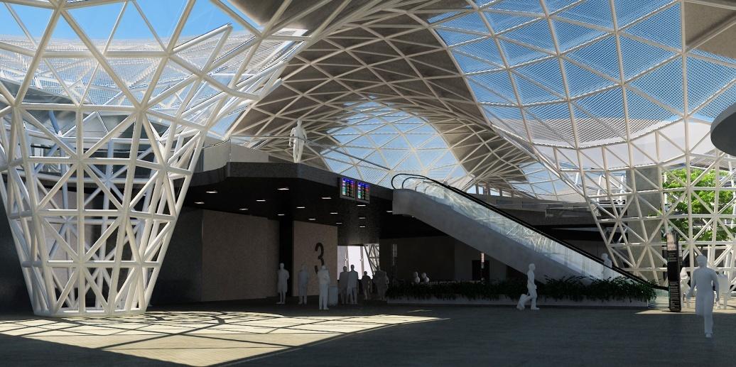 Dise o integral de estructuras laminares la estructura for Estructura arquitectura